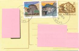 SKOPJE / MAKEDONIA  -  1997 ,  Postcard Nach Hankensbüttel / DE - Macedonië