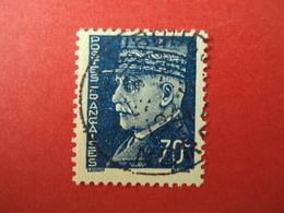 """1941-42- Oblitéré N°  510    -    PETAIN,     """" Type Hourriez""""    """" 70c Bleu    """"         Net    1 - 1941-42 Pétain"""