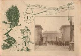 Livre Super Rare Du 10e Régiment De Ligne - Arlon / Louvain - Regimenten