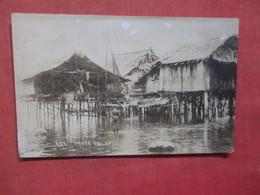 RPPC Philippines, JOLO, Native Stilt Houses   Ref  3850 - Philippines