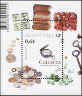 Slovenia 2016. Collecta International Collectors' Fair (MNH OG) Souvenir Sheet - Slovenia