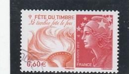 FRANCE 2012 FETE DU TIMBRE YT 4688 OBLITERE - - Oblitérés