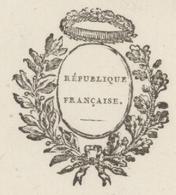 Héraldique Colmar An 6 - 22.2.1798 Le Commissaire En Chef Des Poudres - Documents Historiques