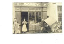21 - Reproduction - DIJON - Boulangerie DOREY - Rue Faubourg Raines - Boulanger Pain - Dijon