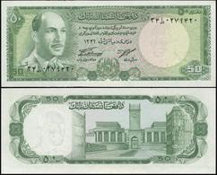 Afghanistan 50 Afganis. ۱۳۴٦ (1967) Unc. Banknote Cat# P.43a - Afghanistan