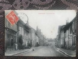 CHAOURCE 10 - Rare Collection ZAIGUE -  La Grande Rue - Chaource