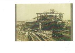 21 - Reproduction - DIJON - Gare Travaux échafaudage Train Locomotive - Dijon