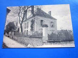 1938 LES TILLEULS  RABLAY-SUR-LAYON [49]Maine Et Loire Carte Postale-CPA PAIX 281 Cachet A Date Rural-HEXAGONAL POUAUCE - Other Municipalities