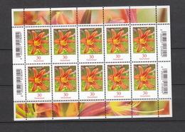 Deutschland BRD **  3509 Blumenserie Taglilie   Kleinbogen Neuausgabe 02.01.2020 - [7] République Fédérale