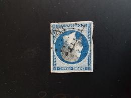 N°14, 20 Cts Bleu, PC 983, Coulmier Le Sec, Cote D'or - 1849-1876: Période Classique