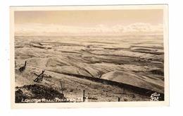 LEWISTON, Idaho, USA, Panorama View Of Lewiston Hill, Old Real Photo Postcard - Lewiston