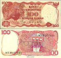 Indonesien Pick-Nr: 122 Bankfrisch 1984 100 Rupiah Vogel - Indonesien