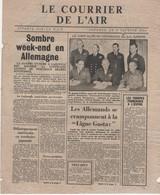 WW2 - Le Courrier De L'Air. Londres Le 3 Février 1944. Journal De 4 Pages, Apporté Par La R.A.F. - Historical Documents