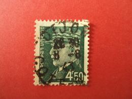 "1941-42- Oblitéré N°  521 B  -    PETAIN,     "" Type Hourriez""    "" 4F50  Vert  ""       Net  4 - 1941-42 Pétain"