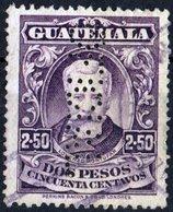 GUATEMALA, COMMEMORATIVO, LORENZO RIVERA, 1926, 2,50 C., FRANCOBOLLO USATO  Mi:GT 213, Scott:GT 226, Sg:GT 219 - Guatemala