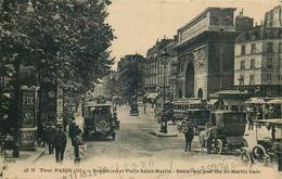 PARIS 3eme Arrondissement  TOUT PARIS  Boulevard Et Porte Saint Martin - Paris (03)