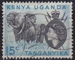 OSTAFRIKA GEMEINSCHAFT [1954] MiNr 0094 II ( O/used ) - Kenya, Uganda & Tanganyika