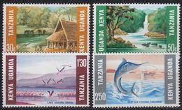 OSTAFRIKA GEMEINSCHAFT [1966] MiNr 0148-52 ( **/mnh ) - Kenya, Uganda & Tanganyika