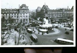 PARIS PLACE DE LA REPUBLIQUE PHOTO CARTE - France