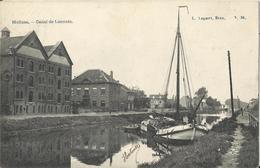 Mechelen - Malines - Canal De Louvain (binnenscheepvaart - Navigation Intérieure) 1907 - Malines