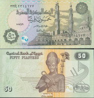 Ägypten Pick-Nr: 70 (9.1.2017) Bankfrisch 2017 50 Piastres - Aegypten
