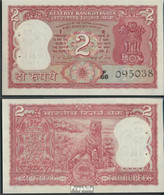 Indien Pick-Nr: 53e Bankfrisch 1984 2 Rupees - Indien