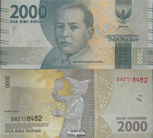 Indonesien Pick-Nr: 155a Bankfrisch 2016 2.000 Rupiah - Indonesië