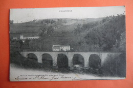 CPA 15 CANTAL SAINT FLOUR. Le Viaduc De Massalés, Prés Saint Flour. - Saint Flour