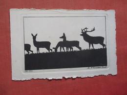 Silhouette - Deer    Ref  3851 - Silhouette - Scissor-type