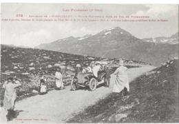 ENVIRONS DE L'HOSPITALET - ROUTE NATIONALE PRES DU COL DE PUYMAURENS ( Automobile Ancienne ) - France