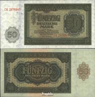 DDR Rosenbg: 345b, KN 7stellig, Mit Plattennummer Bankfrisch 1948 50 Mark - [ 6] 1949-1990 : RDA - Rep. Dem. Tedesca