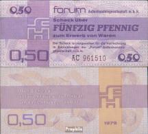 DDR Rosenbg: 367a, Forumscheck Zum Erwerb Von Ausländischen Waren Bankfrisch 1979 50 Pfennig - [ 6] 1949-1990 : RDA - Rep. Dem. Tedesca