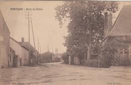 FRONTENARD (Saône Et Loire): Route De Chalon - Sonstige Gemeinden