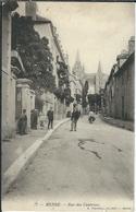 LOZERE : Mende, Rue Des Casernes (avec Tampon Du 142eme Au Dos), Carte Pas Courante... - Mende