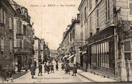 BRIVE  RUE GAMBETTA - Brive La Gaillarde