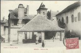 LOZERE : Mende, Halle Au Blé, Carte Pas Courante... - Mende