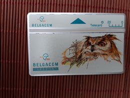 Owl Phonecard 444 C (Mint,Neuve) Rare - Hiboux & Chouettes