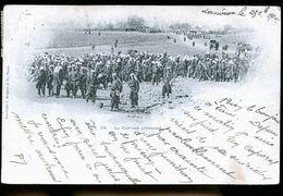 BRIEY LA CANTINE TIRAGE DE 1898 - Briey
