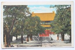 The Temple Of Confucius, Peking, China - China