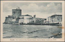 Torre Cabrera, Conte Di Modica, Pozzallo, 1942 - Sigona Cartolina - Italia