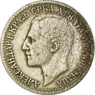 Monnaie, Yougoslavie, Alexander I, Dinar, 1925, Poissy, TB, Nickel-Bronze, KM:5 - Yougoslavie