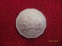 Swaziland: 50 Cents 2005 - Swaziland