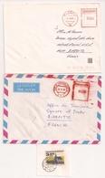 (CdC) Checoslovaquia Sobres (2 Stampless) Y Fragmentos (1) - Canada