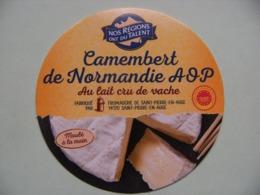 Etiquette Camembert - Nos Régions Ont Du Talent - Fromagerie De St-Pierre-en-Auge 14 Normandie - Calvados  A Voir ! - Cheese