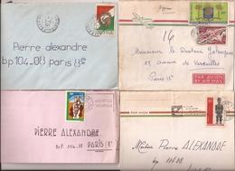 (CdC) Costa De Marfil Sobres Elefantes 2 - Côte D'Ivoire (1960-...)
