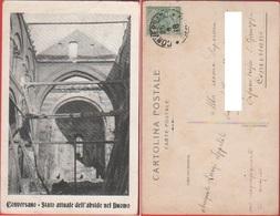 Conversano (BA). Stato Attuale Dell'abside Del Duomo. Viaggiata 1918 - Altre Città
