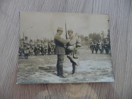 Photo Originale Guerre De 14/18 Remise De Décoration 1915 11.2 X 8.3 - Guerre, Militaire