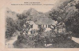 T3  - 25 - Doubs  - BEURE -  Restaurant Du Bout Du Monde BERNHART - Other Municipalities