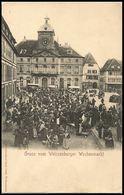 Gruss Vom Weissenburger Wochenmarkt - Vers 1905 - Wissembourg
