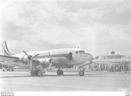 """VICHY - Aéroport De Vichy Charmeil - L'Aérogare - DC4 """" Skymaster """" Au Parking - état - Vichy"""